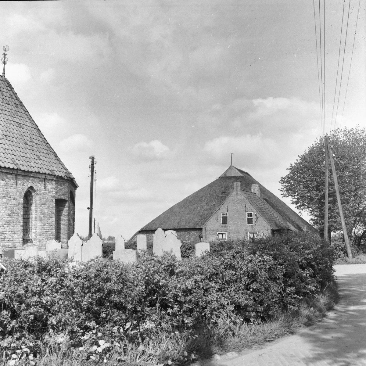Kerkje en Nynke's Pleats, ca. 1950