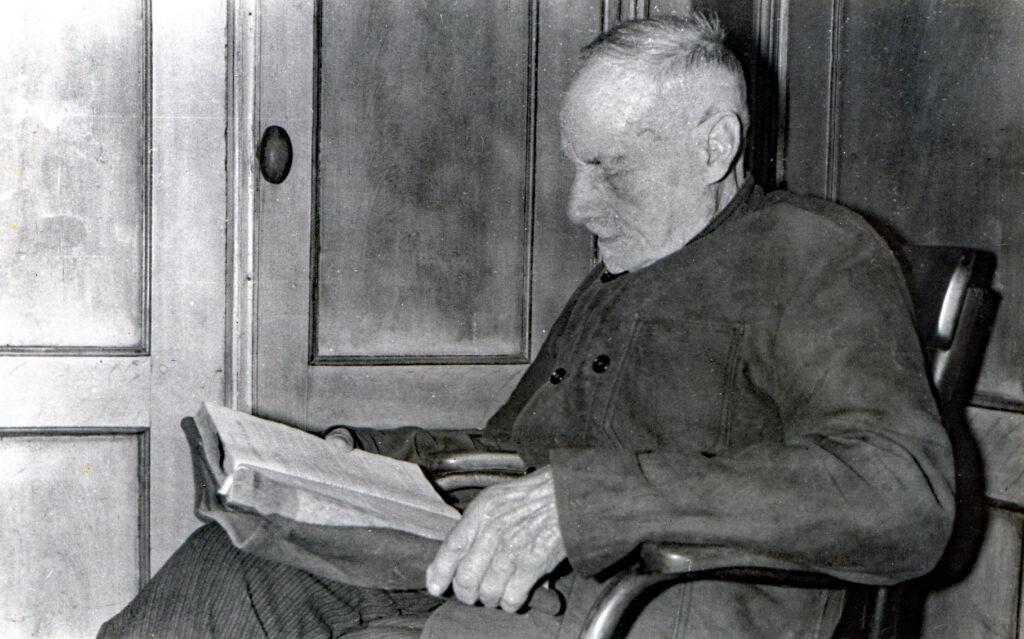 Pieter Postma in het Voorhuis